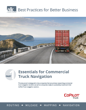 Best Practises Part 1: Essentials for Commercial Truck Navigation