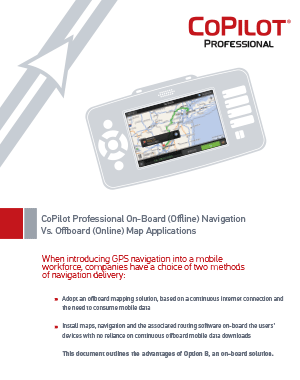 CoPilot Professional: Benefits of On-Board Navigation PDF